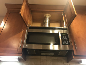 Kitchen Range Hood Air Sealing