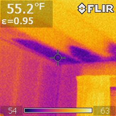 Attic Insulation No Baffles Infrared