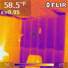 no wall insulation infrared